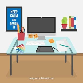 Designer dek workspace