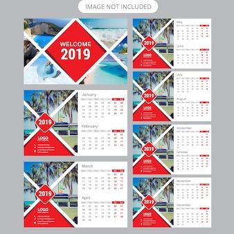 Настольный календарь 2019