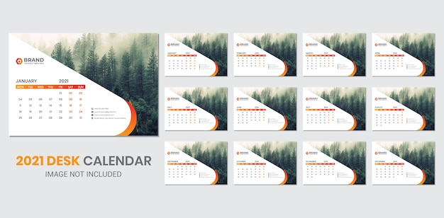 Настольный календарь на 2021 год