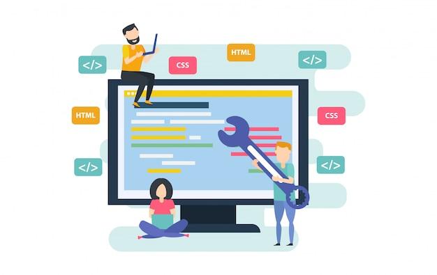 Desktop application development process