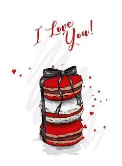 デザートマカロンと愛
