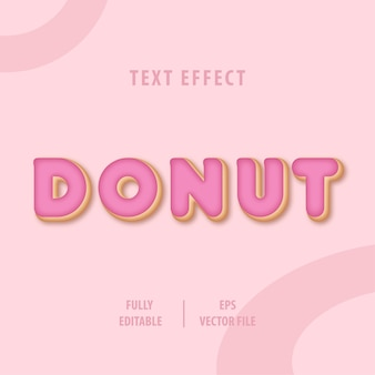 Dessert text style effect
