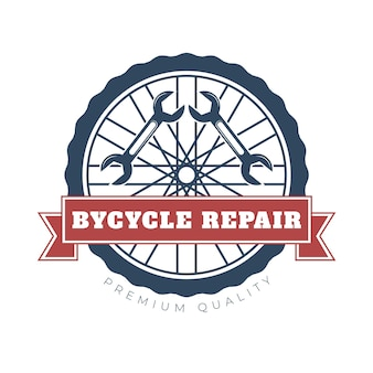 Detailed bike logo premium quality