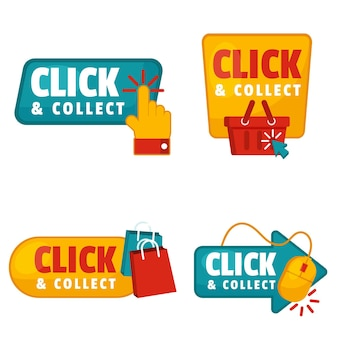 Detailed click and collect signs