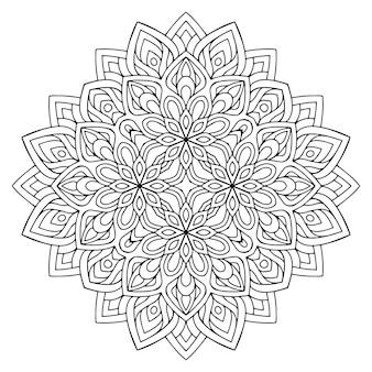 Detailed decorative mandala illustration