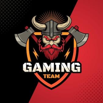 Detailed esports gaming logo