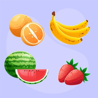 Detailed fruit collection