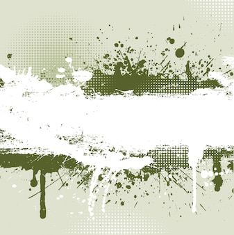 Detailed grunge background with splats and drips