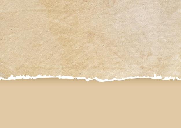 Sfondo di carta strappata grunge dettagliato