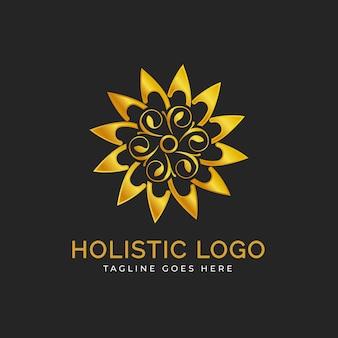 Detailed holistic logo
