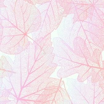 자세한 잎 배경입니다.
