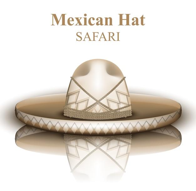 자세한 멕시코 모자