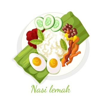 詳細なナシレマッ食品の図解
