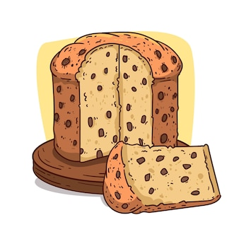 Detailed panettone concept
