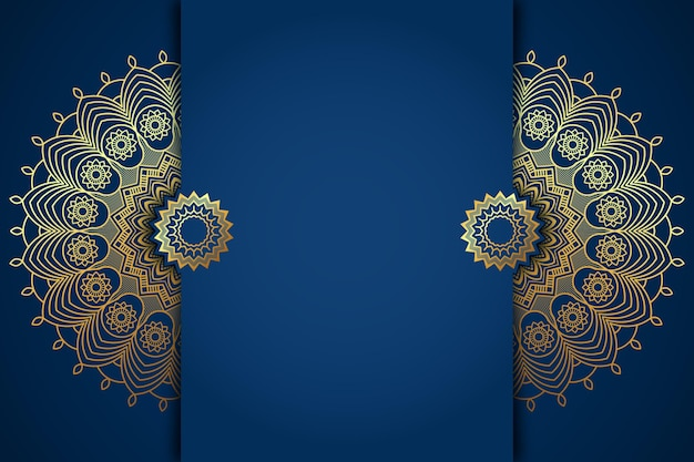 Detailed paper style arabic background