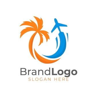 Подробный логотип путешествия