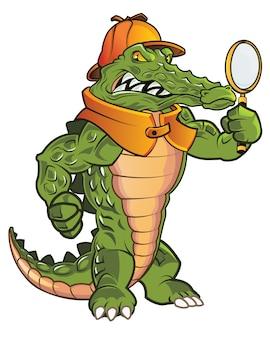 Detective gator