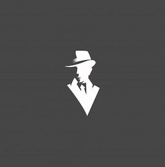 детективный логотип