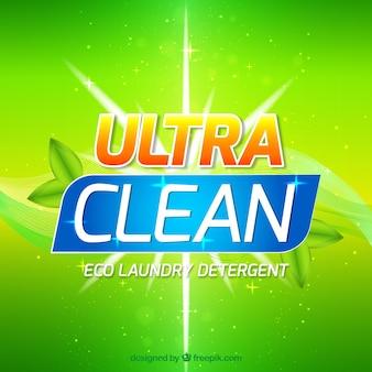 Detergent background design