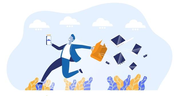 클라우드 컴퓨팅 서비스 통신 및 가상 회의를 통해 온라인 작업으로 전환하는 개발자