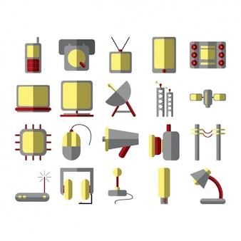 Коллекция иконок устройств