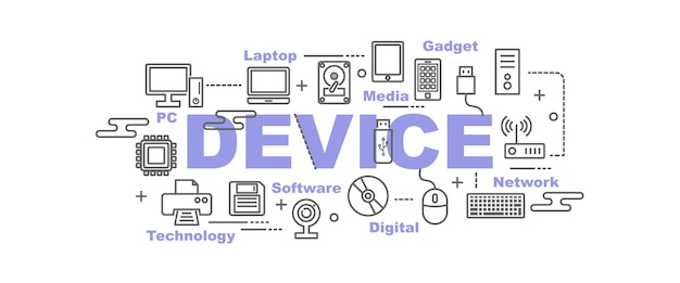 Device vector banner