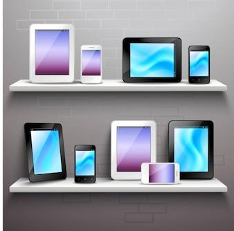 棚の上のデバイス