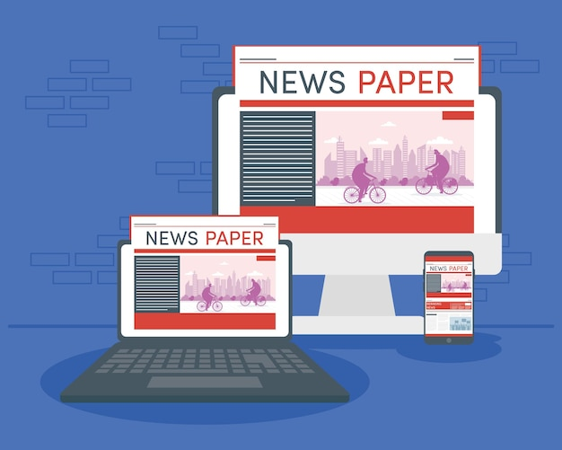 Devices and online news technology
