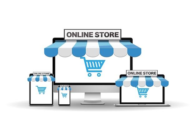 Устройства с интернет-магазином