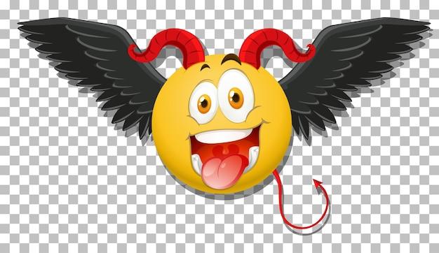 표정으로 악마 이모티콘