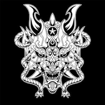 Иллюстрация дьявола