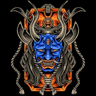 The devil samurai japan