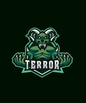 Логотип devil terror esports