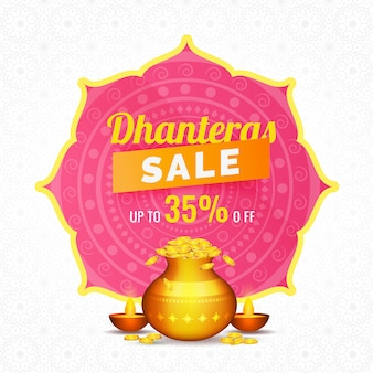Dhanteras sale template.
