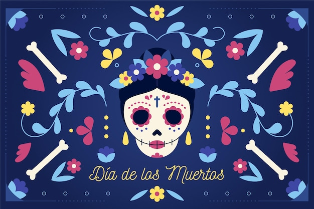 Dia de muertos background