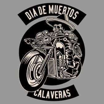 Dia De Muertos Biker