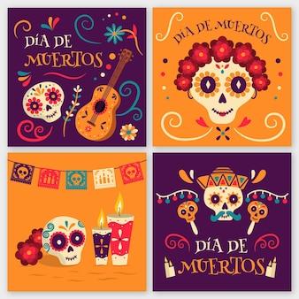 Коллекция постов в instagram dia de muertos
