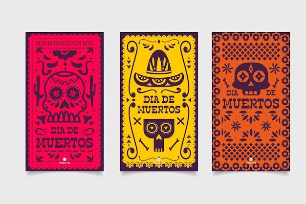 Коллекция рассказов dia de muertos instagram