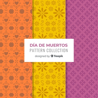 Día de muertos pattern collection