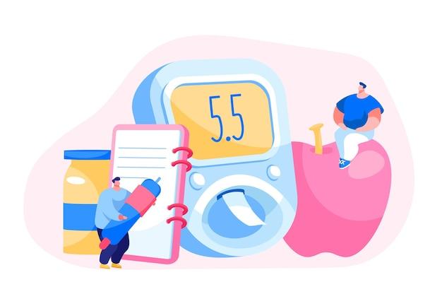 デジタル血糖計での糖尿病血糖値検査