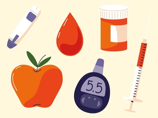 Медицинский набор для диабета