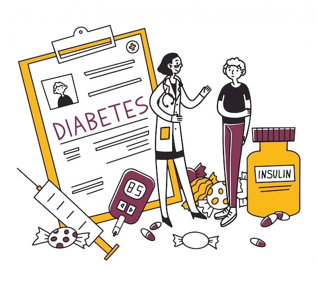 Diabetes patient diagnostic