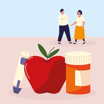 Люди лечения диабета