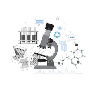 Diagnostics Medical Application Health Care Medicine Online Web Banner Thin Line Vector Illustration