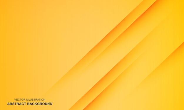 斜めの抽象的な背景黄色のモダンな色