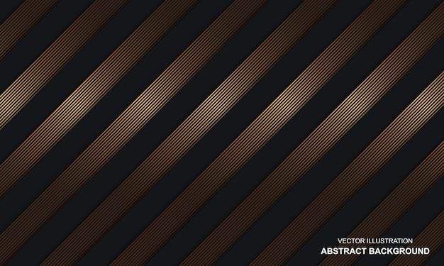 골든 라인 대각선 블랙 dop 현대 배경