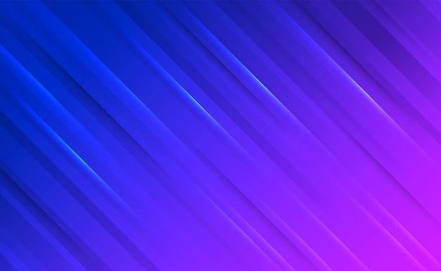 파란색과 분홍색 그라데이션 추상적 인 배경에 대각선과 그림자 빛