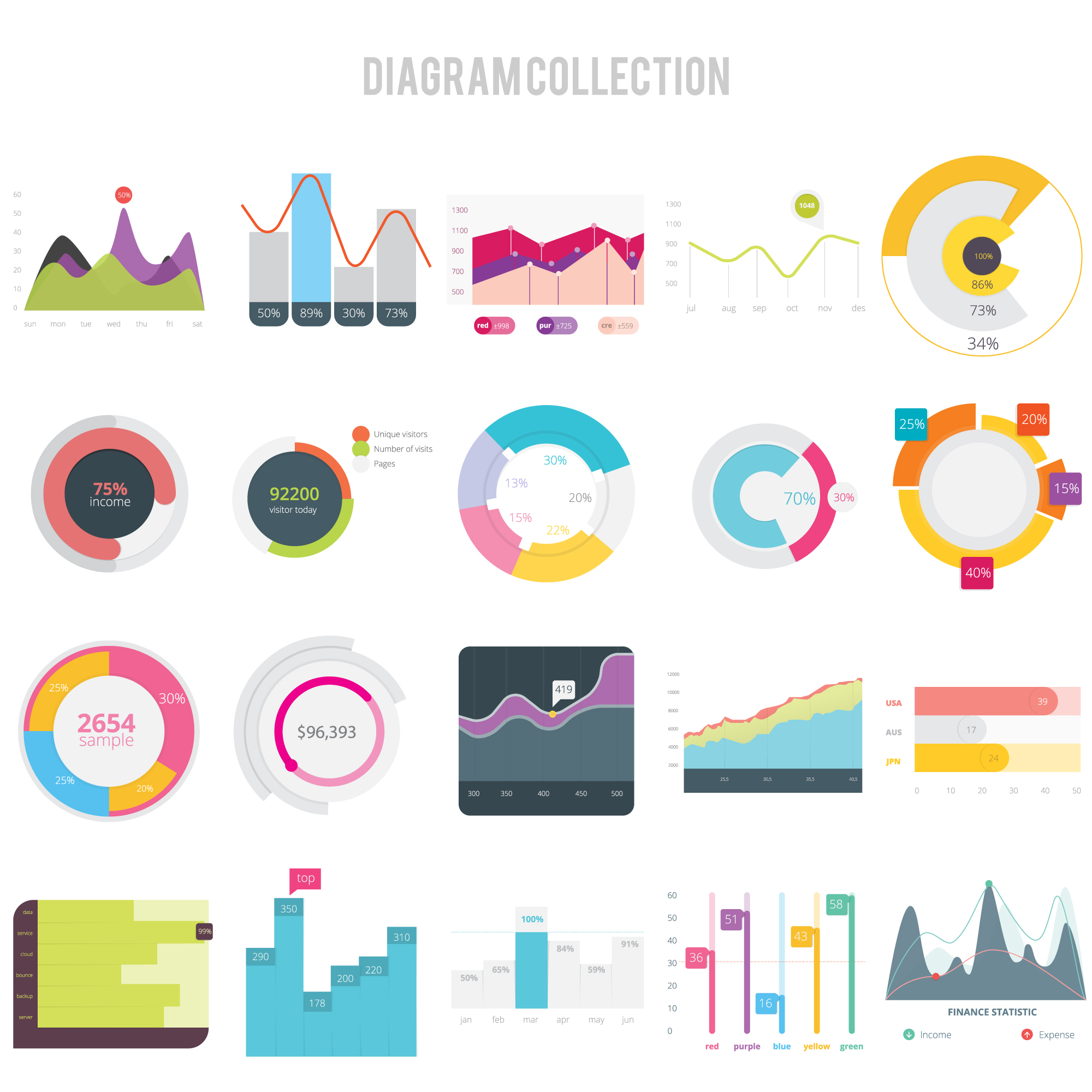 Diagram design collection