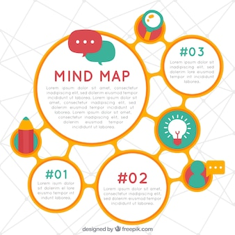 Mind map vectors photos and psd files free download diagram template with fun style ccuart Choice Image