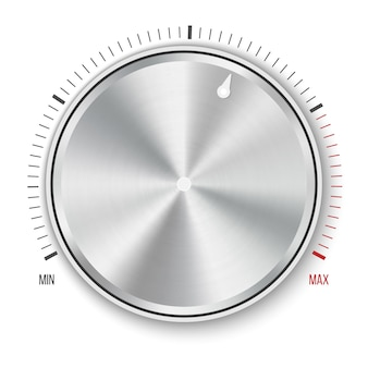 Dial knob level technology settings